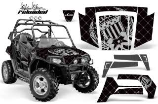 AMR RACING GRAPHICS POLARIS RZR 800 RZRS STICKER KIT HS
