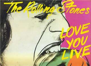 ROLLING STONES Love You Live COC2 9001 VG++/ VG+