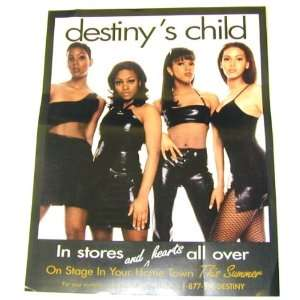 Destinys Child   Self Titled Album   HUGE 8.5 x 11