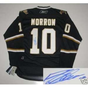 Brendan Morrow Signed Dallas Stars Rbk Jersey Coa Sports
