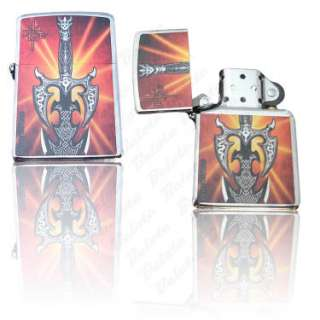 Zippo Kit Rae Kilgorin High Polish Chrome Lighter 24788