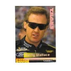 1995 TRAKS #46 RUSTY WALLACE (Racing Cards) Sports