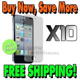Matte LCD Screen Protector For Apple iPhone 4G 4S 4 Film Cover