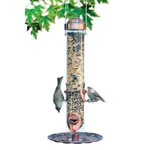 Perky Pet Copper 2 in 1 Bird Feeder, Antique Copper Finish