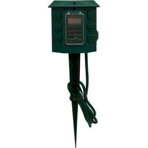 GE 15144 Heavy Duty Digital Outdoor Timer