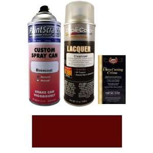 12.5 Oz. Dark Red (PPG 71615) Spray Can Paint Kit for 1972 Renault All