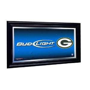 Green Bay Packers Bud Light Beer Pub Mirror NFL