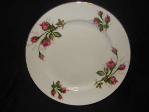 Moss Rose Royal Crafts Japan Fine China Dinner Plate