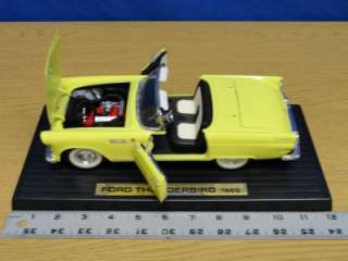1955 Die Cast Ford Thunderbird Model Car J74