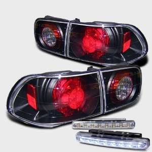 Eautolights 92 95 Honda Civic 2/4 Door Tail Lights + LED