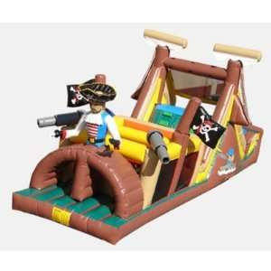 Pirates Obstacle Bounce House (Commercial Grade) Toys & Games