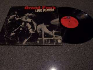 Grand Funk Railroad Live Album 2 LP SET
