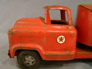 1959 Antique BUDDY L Pressed STEEL Old TEXACO Toy TANKER TRUCK 550