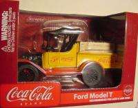 DIECAST COKE COCA COLA BOTTLE CRATE FORD TRUCK BANK 1918 Runabout