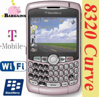 Blackberry Curve 8320 WIFI PDA cell phone (T Mobile) Smartphone