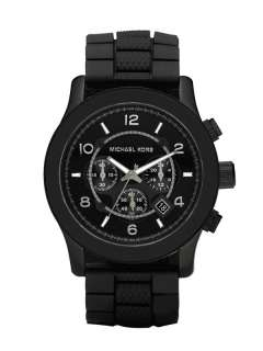 Michael Kors Gun Metal Chronograph Mens Watch MK8181