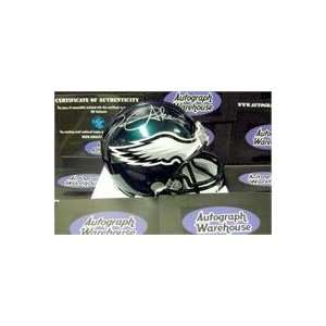 David Akers autographed Football Mini Helmet (Philadelphia Eagles)