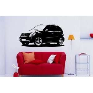 Wall MURAL Vinyl Sticker Car Mercedes Benz M ClasS 959