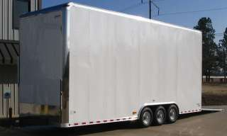 NEW PETERBILT MOTORHOME & 26 STACKER TRAILER 2 CAR