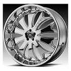 26 Lexani CS2 Wheel SET 26 inch CS2 RIMS SET Chrome YUKON TAHOE
