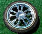 Chrome GENUINE VOGUE Sage II WHEELS TIRES Cadillac Lincoln Town Car