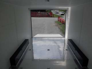 NEW 8.5 X 18 ENCLOSED CUSTOM TRAILER BIKE CAR HAULER GR