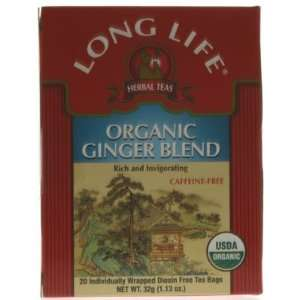 Herb Tea, Organic, Ginger, 20 bag ( Multi Pack) Health