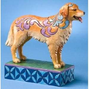 Enesco Jim Shore Kibby Golden Retriever Puppy Dog