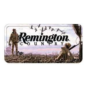 Novelty Car License Plate Remington Guns Duck Hunting