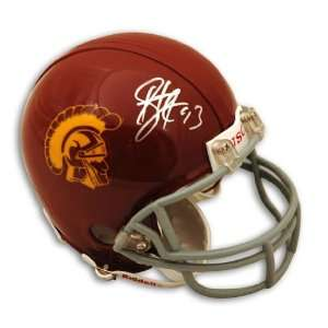 Troy Polamalu Signed USC Trojans Mini Helmet Sports