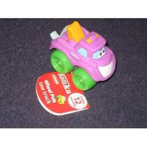 Tonka Mini Wheel Pals Purple Tow Truck Cushy Crusin Toys & Games