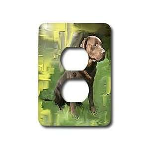 Dogs Labrador Retriever   Chocolate Labrador Retriever   Light Switch