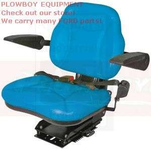 BIG BOY FORD Tractor Seat Blue 2000 3000 4000 5000 6000 7000