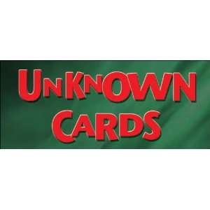 Unknown Cards DVD   Card Magic Trick Instruction Toys & Games