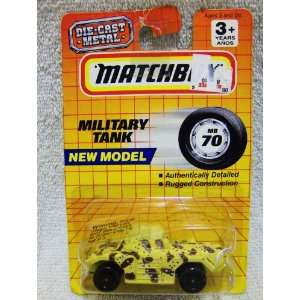 1993 Matchbox Series #70 Military Tank 164 Scale Die Cast