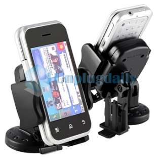 Black Car Vent Mount Holder For iPod Touch 4th Gen