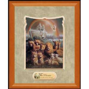 Christian Framed Art by William Hallmark   The Promise 13