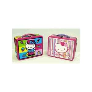 Hello Kitty Tin Tote Lunch Box by Tin Box Company Toys & Games