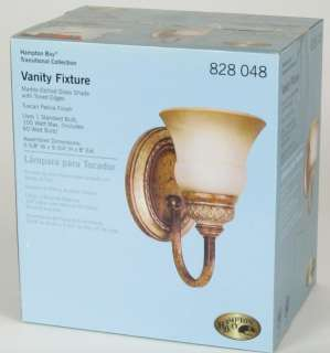 Hampton Bay Gold Tone Single Bathroom Vanity Fixture