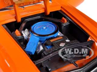 1970 FORD MUSTANG BOSS 429 ORANGE 1/24 DIECAST MODEL BY M2 MACHINES
