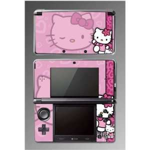 Cute Kitty Hearts Pink Princess Pretty Girl Game Vinyl Decal Cover