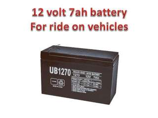 12v 7Ah Battery for Kids Ride on Cars & Motorcycles toy 12 volt