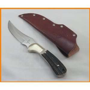 Bowie Knife Stag Handle Hand Crafted in Germany