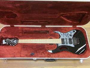 Ibanez Steve Vai JEM505 Black Electric Guitar   Used