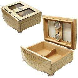 Cuban Crafters White Humidor and Cigar Accessories Set