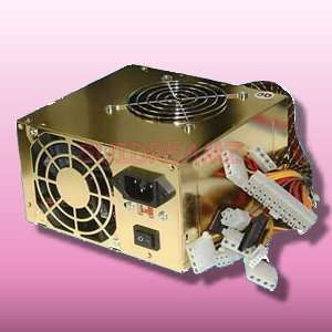 BSTAR 650 Watt Dual Fan ATX 650W Gold SATA Power Supply
