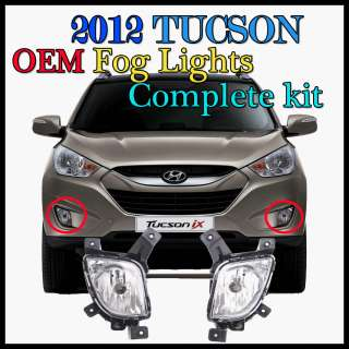 2012 Hyundai Tucson OEM Fog Lights/Lamps complete Full   Kit