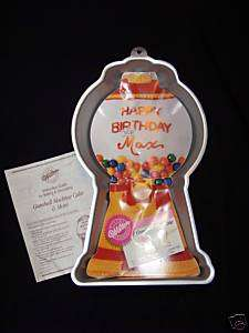 Wilton GUMBALL MACHINE Gum Ball Cake Pan Mold INSERT