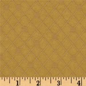 54 Wide Jacquard Delizia Dot Gold Fabric By The Yard