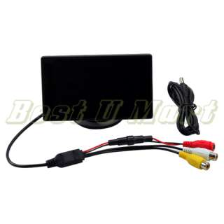 TFT LCD Car Monitor Rear Reverse RearView Color Monitor PAL/NTSC USA